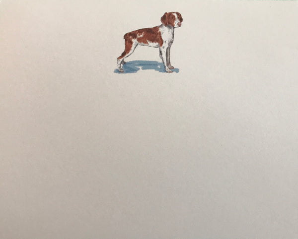 Spaniel Dittie Notepad
