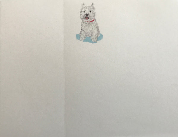 Westie Dittie Notepad