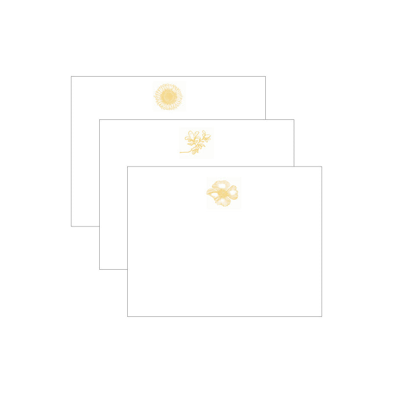 Floral Trio Notecards