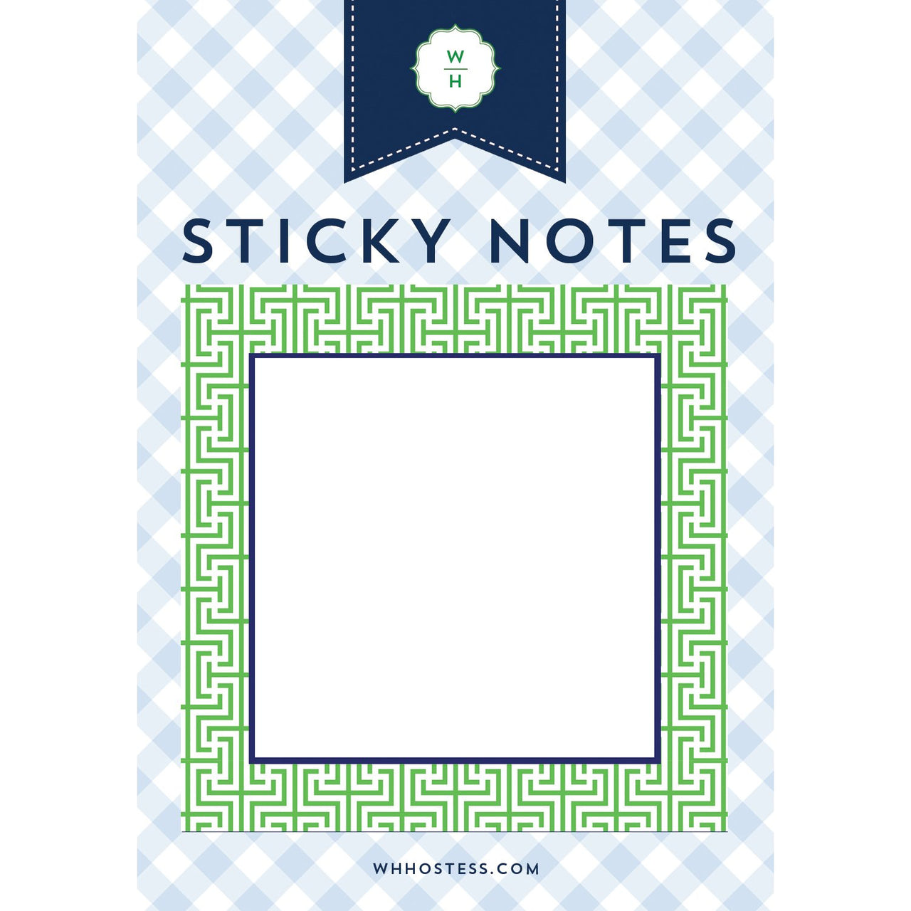 Garden Maze Sticky Notes
