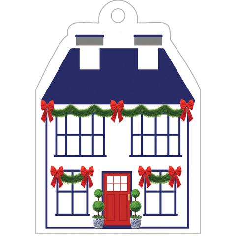 Holiday House Die-Cut Gift Tags