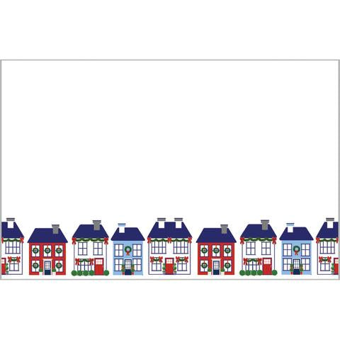 Holiday Village Slab Notepad