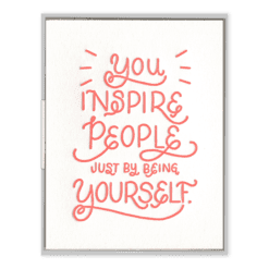 You Inspire Card