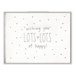 Lots of Happy Card