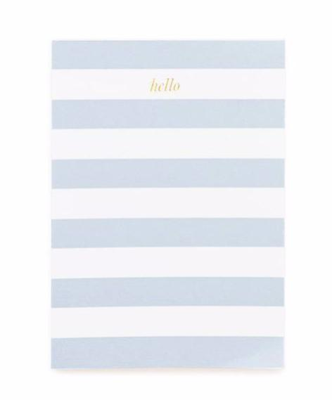 Mini Stripe Notepad