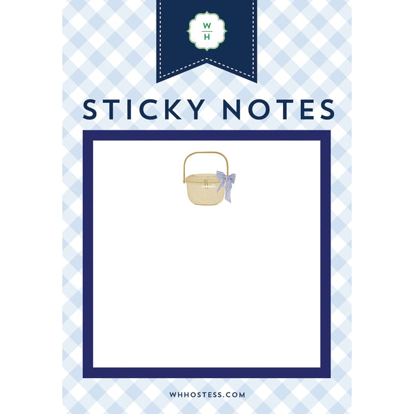Nantucket Basket Sticky Notes