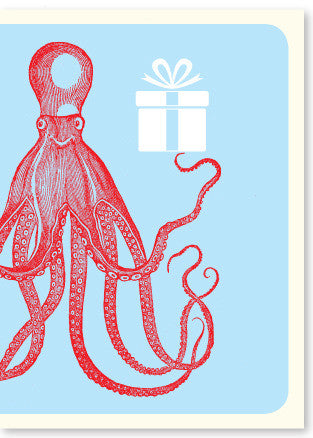 octopus enclosure card