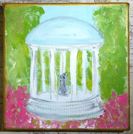 UNC Old Well Painting