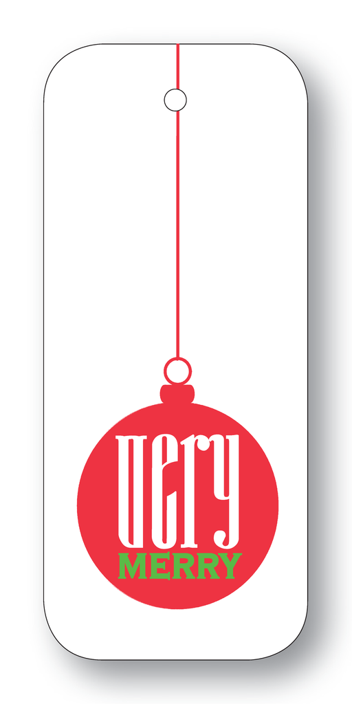 Very Merry Gift Tags