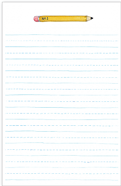Pencil Notepad
