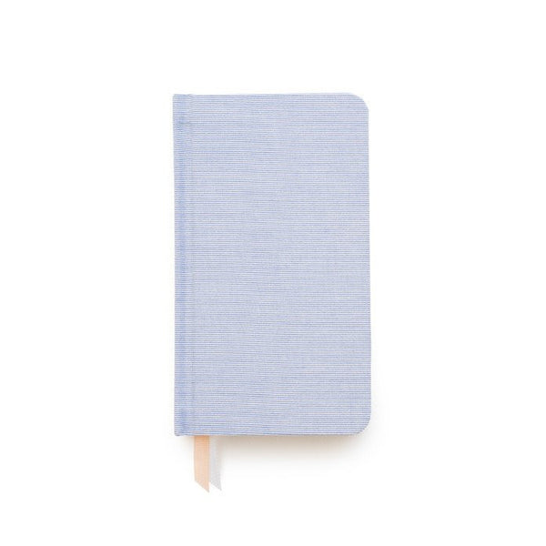 Blue Pencil Stripe Petite Journal