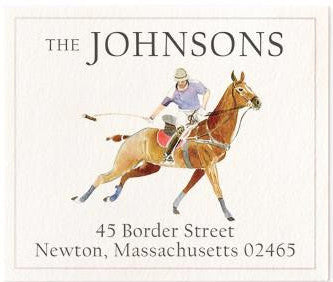 polo swing address label