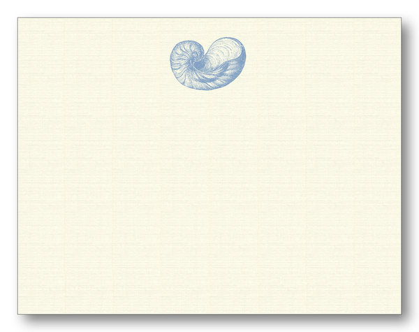 Shell Nautilus Flat Notecards
