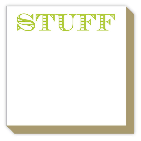 Stuff Mini Luxe Notepad