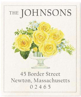 sunkissed address label