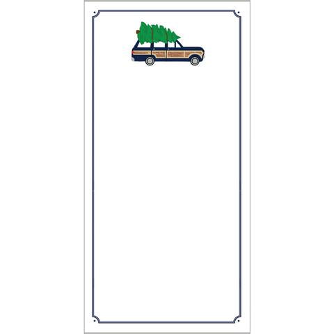 Jeep Wagoneer with Tree Notepad