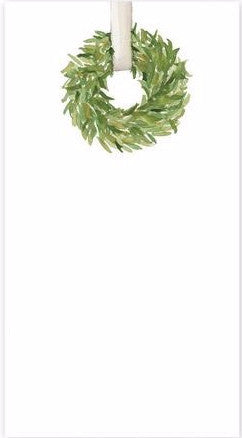 Wreath Long Notepad