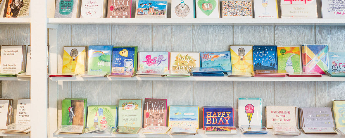 Shop hand made funny greeting cards from Primitive Beginnings.""