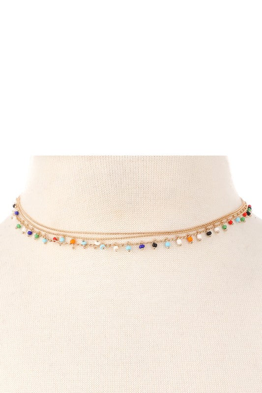 Colorful Layered Choker