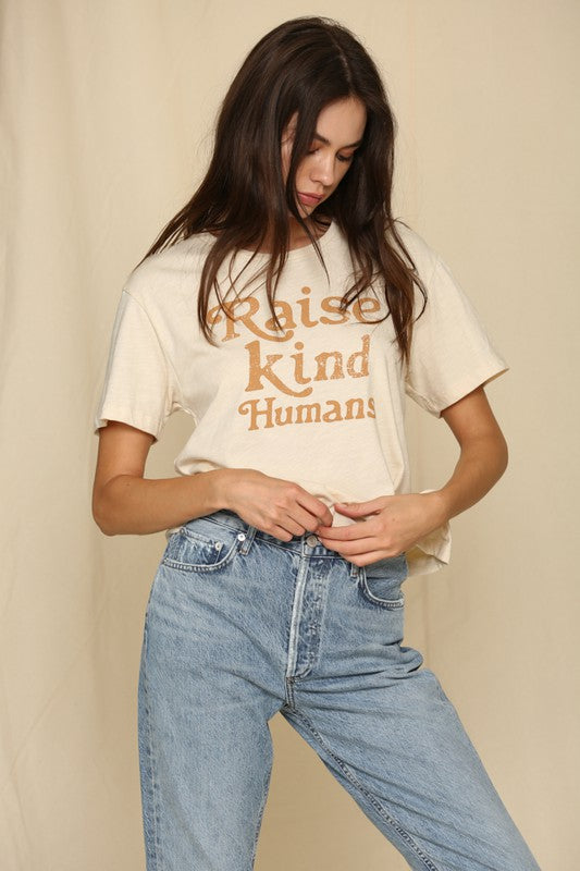 Raise Kind Humans Short Sleeve T-Shirt