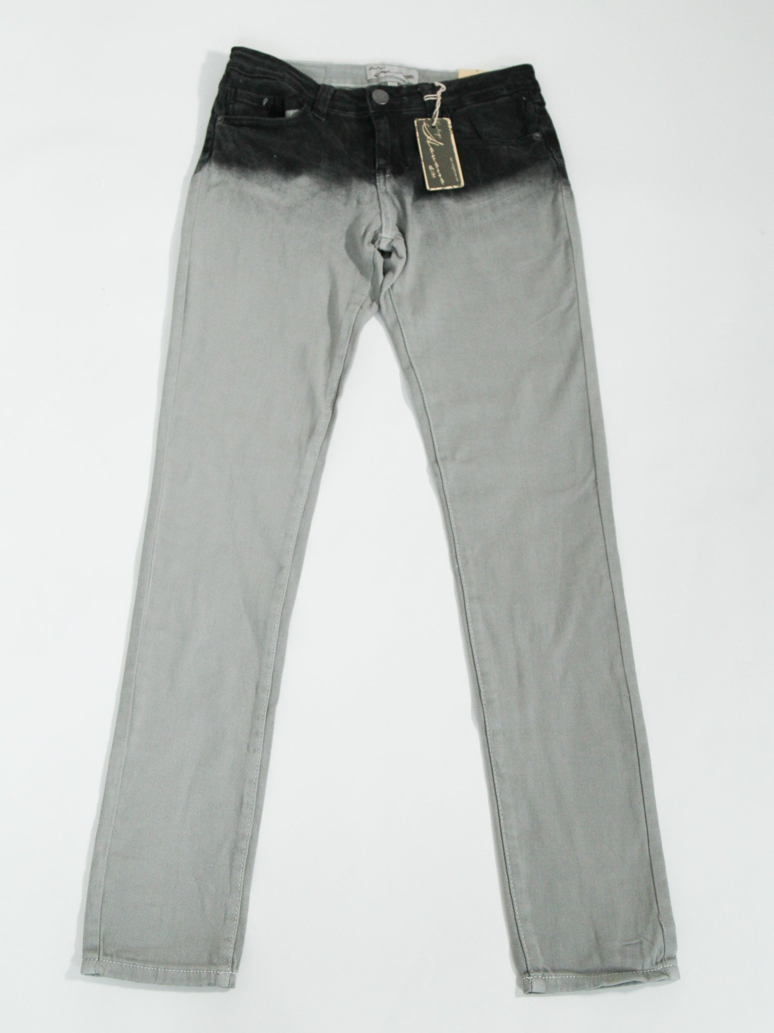 Grey Ombre Jeans