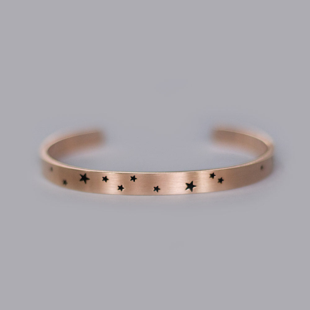 Zodiac Collection - Rose Gold Constellation Cuffs