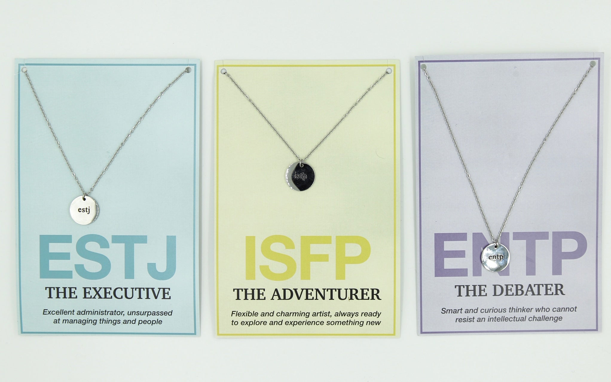 "ENTJ ""The Commander"" Necklace"