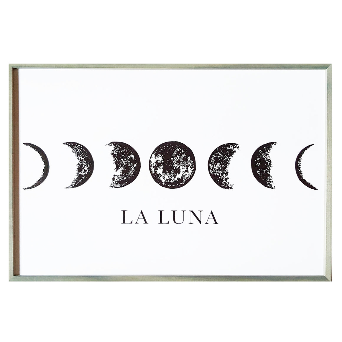 La Luna Wall Art Sign - 2' x 3'