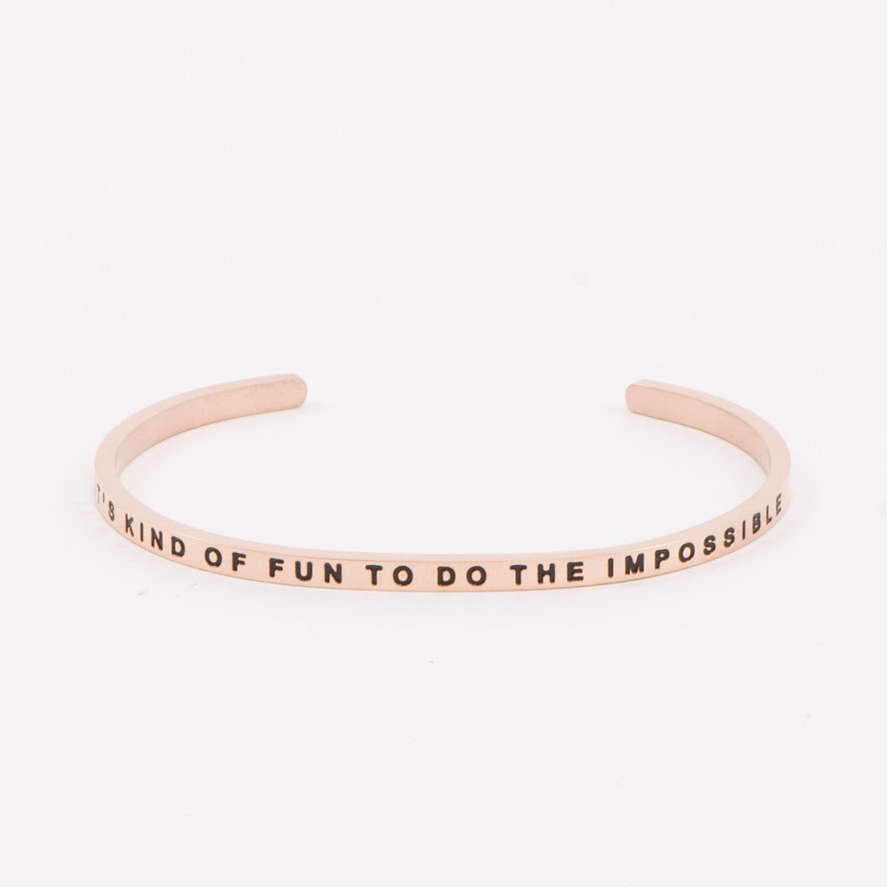 Rose Gold Inspirational Bracelets