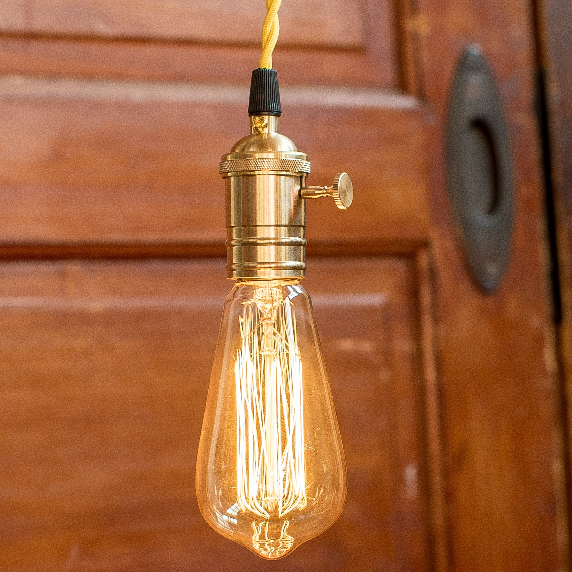 Braided and Twisted Light Cord for Edison Bulbs