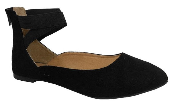 Black Betty Flat Shoes