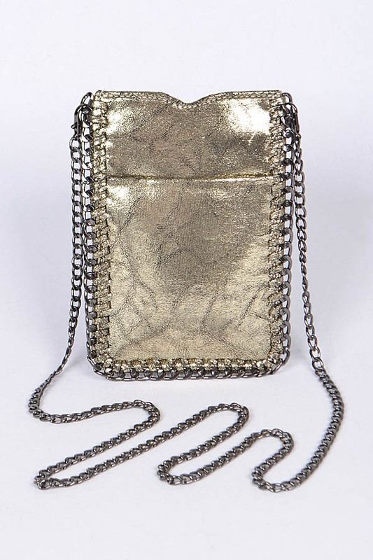 Shiny Clutch Handbag