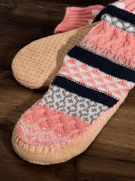 Nordic Pattern Slipper Sock
