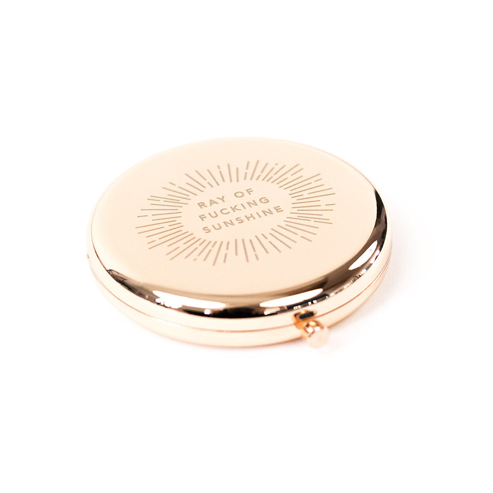Rose Gold Compact Mirrors