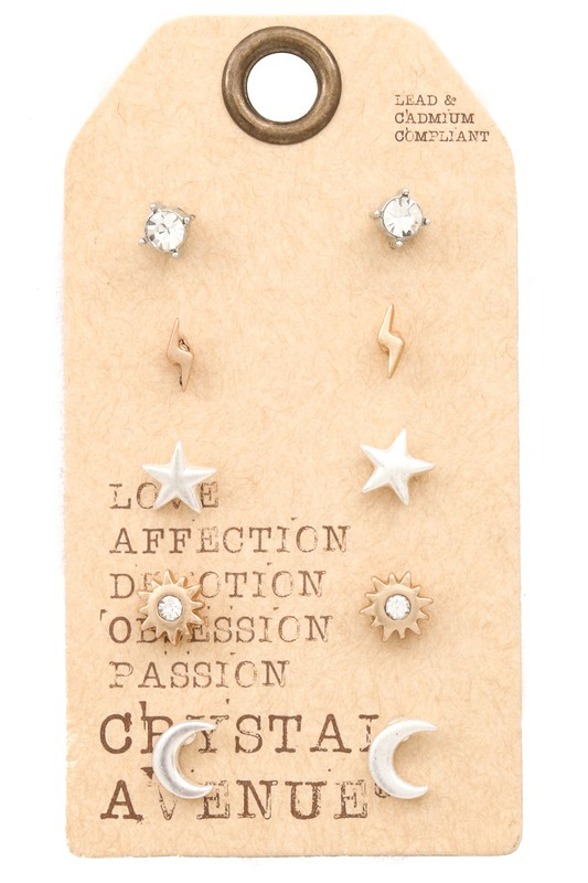 Universe Stud Earring Set