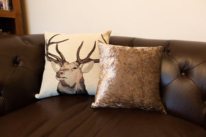 Large Stag Cushion