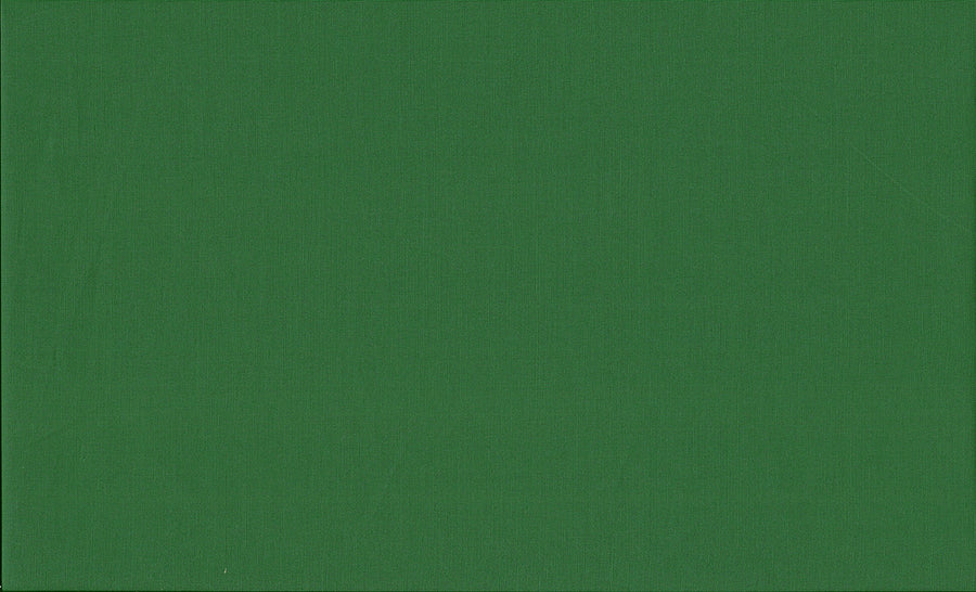 Foliage Green Fabric. 100% Cotton. From the 72 Colour Spectrum Range. Quilting and Crafts.