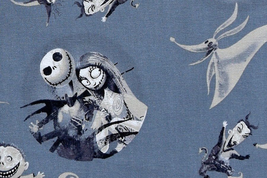 Disney Nightmare Before Christmas Fabric - Jack & Friends