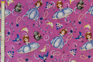 Sofia the First fabric