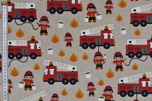 Fire Engines Fabric