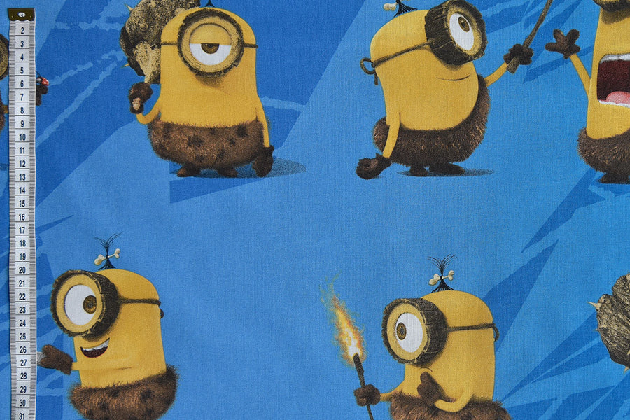 Minions fabric from Despicable Me Film