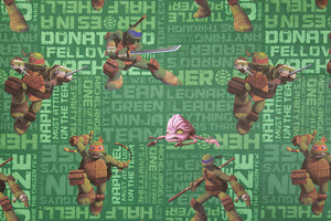 Teenage Mutant Ninja Turtles Fabric