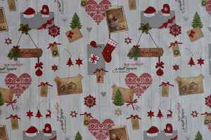 Christas Holiday Fabric