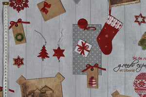 Christmas Holiday Fabric