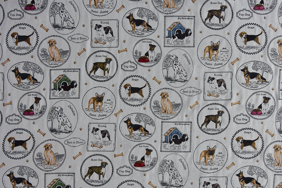 Best in Show woven dog fabric