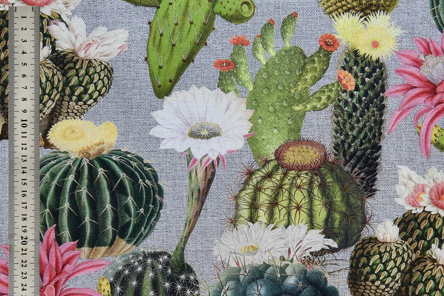 Cactus, Digital Print Fabric