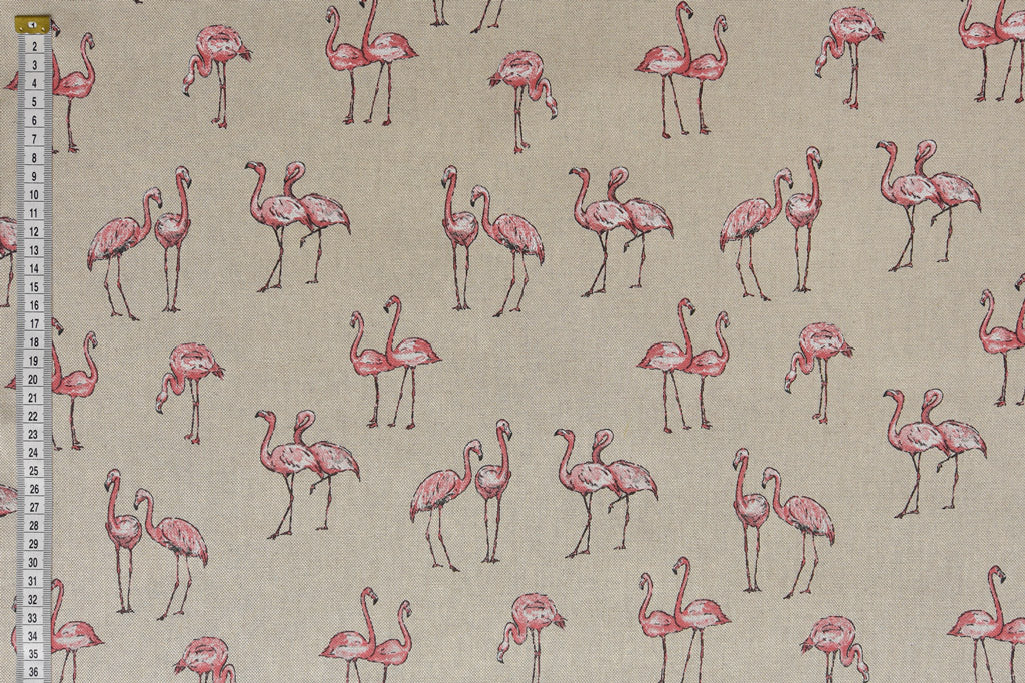 Pink & White Flamingos