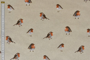 Red Robin fabric - Cushions, Craft & Christmas