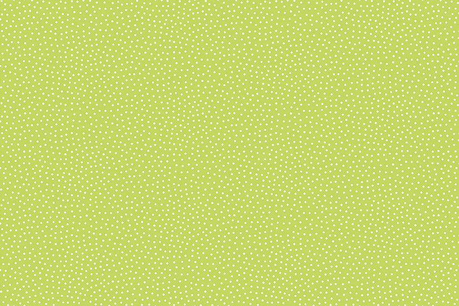 Seed Dots Fabric- Green. From the Sunny Bee Collection by Makower. Quilting, Masks and Dressmaking.