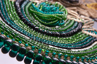 Gorgeous Green Beads